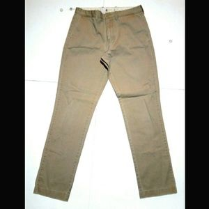 J Crew 32x34 Straight Broken-In Chino Tan Pant